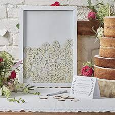 Amazon Com Ginger Ray Drop Top Wooden Frame Alternative Wedding