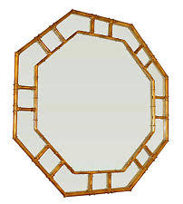 gold bamboo mirror. \ Gold Bamboo Mirror