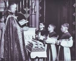 Image result for catholic school boys and priests