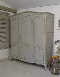 Painted Oak Bedroom Furniture This Fantastic 1950s French Oak Triple Wardrobe Is Painted In