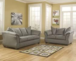 ashley sofa and loveseat. Sofa, Ashley Furniture Sofa And Loveseat Modern Design Gray Cloth Rectangular Shape Black Legs Plus S