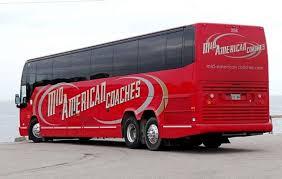 American Coach Bus Bus And Coach Photos Prevost Mid American