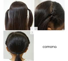 髪が長い女の子におすすめ簡単崩れにくい滴りにくいプールヘア