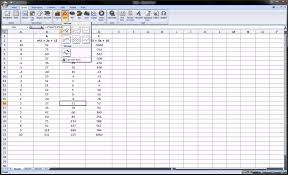 excel graphing math functions