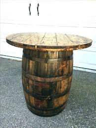 whiskey barrel table and chairs furniture coffee for vintage f