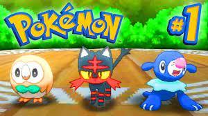 Pokemon SUN and MOON Episode 1 - Walkthrough Part #1 - LIVE w/ Ali-A! -  YouTube
