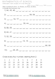Skip Counting By 2s Worksheet Kookenzo Com