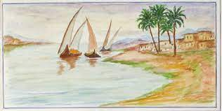 Sketches on the Nile: An Album of 43 Original Watercolors and Doggerel  Verse Documenting a Nile Cruise in 1938 | EGYPT, Alan Hinch
