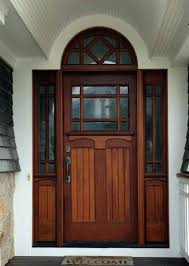 craftsman style front door s s craftsman style fiberglass entry door with sidelights