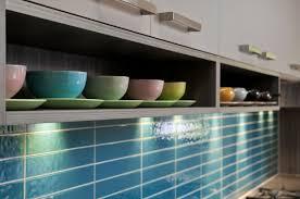 surrey hills kitchen glass tile kitchen splashback