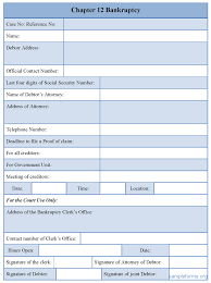 sample chapter bankruptcy form sample forms chapter 12 bankruptcy form
