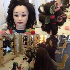 on tuesday monica started the day by going over 1930 s history of makeup she moved on to demo how to block out eye brows and create a look from this time