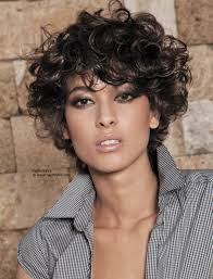 Short Wavy Curly Hairstyles 25 Short Curly Hair With Bangs Different Shapes Bobs And Curly Hair