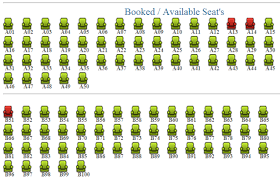 Codding Theatre Seating Chart Ticket Booking Codeproject