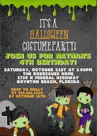 Free Halloween Birthday Invitation Templates Halloween Birthday Party Invitations Templates Free
