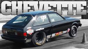 Black v8 CHEVETTE drag racing TriState Dragway 2012 - YouTube