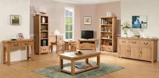 wooden living room furniture. Somerset Chunky Oak Furniture Wooden Living Room