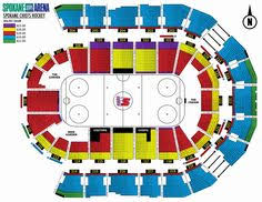 Disney On Ice Spokane Arena Seating Chart Chicago Theater