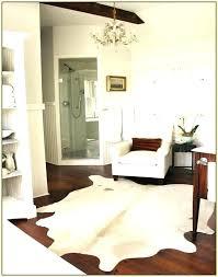 hide rug in bedroom posts cowhide rug bedroom decor