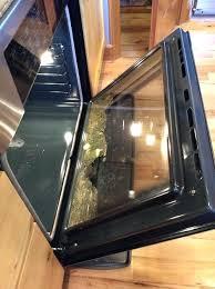 mesmerizing how to clean oven door glass miele oven clean inside glass door
