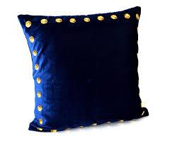 amazoncom navy blue pillow covers navy blue pillow in velvet