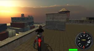 Motor Bike Crush Simulator 3D Pudlus Games  - Racing