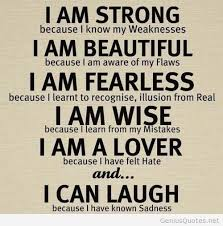 Strong beautiful and laugh quote / Genius Quotes on imgfave via Relatably.com