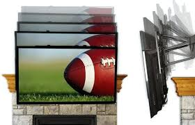 full size of pull down tv mount over fireplace uk mantelmount mm340 above mm540 is the