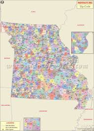 missouri zip code map missouri postal code