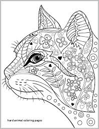 18 Luxury Hard Coloring Pages Of Animals Coloring Page