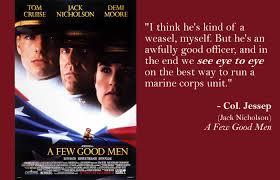 Few Good Men Quotes Gorgeous Movie A Few Good Men Quotes Quotes
