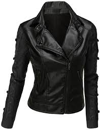 the strong style statement the black leather jackets