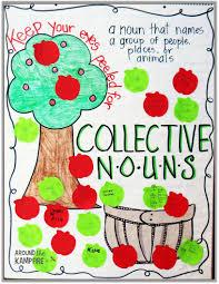 Chart Of Collective Noun Collective Nouns Apple Activities Grammar Craft