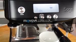 Máy Pha Cà phê - Đại Minh Gia Lai - BREVILLE 878 BARISTA PRO ĐEN NHÁM CỰC  ĐẸP