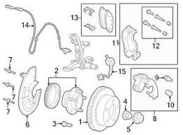 ford oem abs wheel speed sensor wiring harness 6w1z2c204a image 14 image is loading ford oem abs wheel speed sensor wiring harness