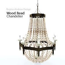lighting wood bead chandelier model max 1 regina andrew malibu chandelier scalloped wood regina andrew