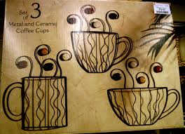 Metal Wall Decor For Kitchen Coffee Wall Daccor For Your Cafe Room Furniture Ideas