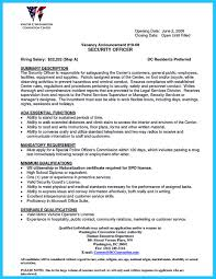 Resume Physical Security Consultant Cover Letter Best Inspiration