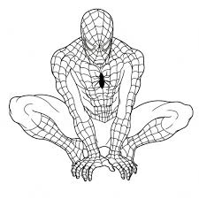 Small Picture Spiderman Coloring Pages To Print Black Spiderman Coloring Pages