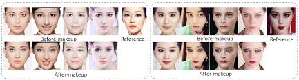 deep localized makeup transfer network