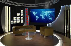 Tv studio furniture Interior Design Virtual Tv Studio Chat Set 19 Gelbach Designs Inc Virtual Tv Studio Chat Set 19 By Canan85 3docean
