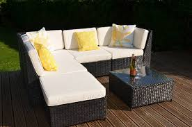 we suggest using an outdoor fabric protector which forms a protective barrier it ll also make your cushions easier to clean in the future