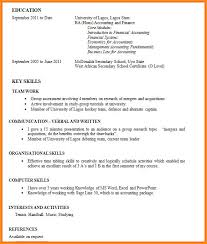 Work Experience Cv Awesome 9 How To Write Work Experience In Cv