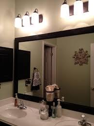 wood framed bathroom vanity mirrors attractive bathroom mirrors wood frame