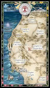 Fantasy Maps – Priscilla Spencer