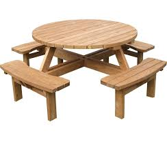 The Classic German Beer Garden Table Shown In The Natural Wood Beer Garden Benches
