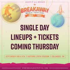 Midway opens at noon on friday. Breakaway Festival Breakawayfest Twitter