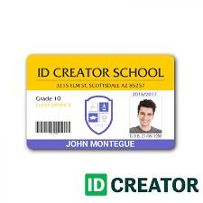 Id Cards Template Child Id Card Template Full Hd Student School School Id