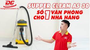 Supper Clean AS 30 - Máy hút bụi công nghiệp loại nhỏ giá rẻ phù hợp cho  văn phòng, nhà hàng,... - YouTube