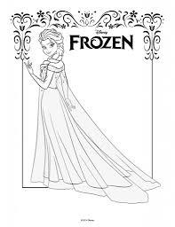 Disegni Da Colorare Di Frozen Da Stampare Gratiselsa Figura Intera